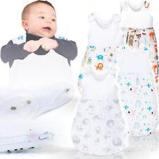 Baby Kind Sommerschlafsack Sack Fußsack Schlafsack Schlafanzug (100% BAUMWOLLE)