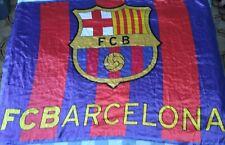 Bandera Flag Fahne BARCELONA Size XL Years 90 Vintage