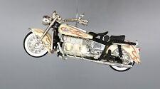 Custom Christmas Ornament Harley Davidson Police Cop Motorcycle Bike