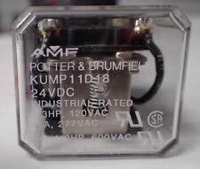 LOT OF 5 POTTER & BRUMFIELD NSN 5945-01-075-8945 KUMP11D18-24 RELAY, ARMATURE