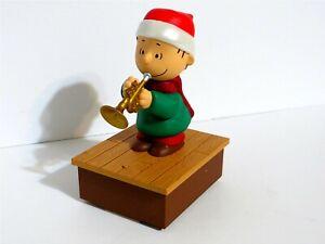 SNOOPY PEANUTS HALLMARK WIRELESS CHRISTMAS BAND MUSIC MOTION LINUS 2011