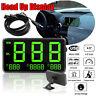 Compteur vitesse GPS numérique voiture affichage tête haute survitesse MPH /  SH