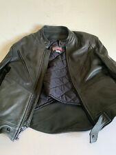 Brooks Leather Motorcycle Jacket (U.S.A. Made Size 46)