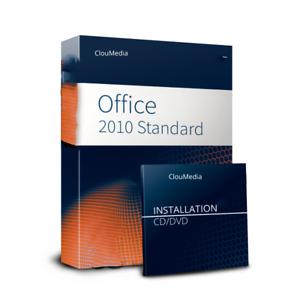 Microsoft Office 2010 Standard 64 Bit Version für 1 PC
