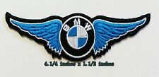 BMW Blue Wing  Logo  iron on ,sewing on,Patch on,decorate on  Fabric
