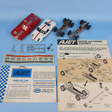 K&B Aurora 1/32 Scale Ford Mustang Fastback Ford GT Chassis A-Jet Slot Car