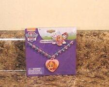 Nickelodeon Paw Patrol Skye Beaded Necklace Charm Plastic NEW