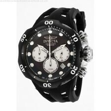 New Mens Invicta 22351 Venom Chronograph Black Rubber Strap Watch
