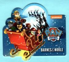 BARNES & NOBLE Die-cut Paw Patrol 2016 Gift Card ( $0 )