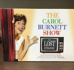 The Carol Burnett Show Lost Episodes, 22 Disc Sealed DVD Boxed Set and Book