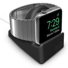 Orzly® Night-Stand for Apple Watch 38mm & 42mm Holder Stand Cradle - BLACK
