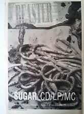 SUGAR Beaster 1993 UK Poster size Press ADVERT 16x12 inches