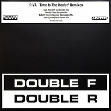 "Riva 2x12"" Time Is The Healer (Remixes) - Europe (EX/M)"
