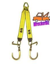 "G70 WRECKER TOW TRUCK, CARRIER WINCH V STRAP, J and Mini J Hook - 30"" LONG LEGS"