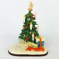 Hummel Musikfest Christmas Surprise 1003-D Goebel 1998 Music Box Tree Holiday
