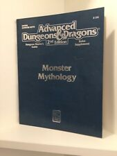Monster Mythology, Advanced Dungeons & Dragons 2nd Ed. (AD&D), RPG