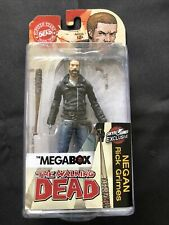 The Walking Dead Negan Rick Grimes Megabox Exclusive Figure Skybound Lucille