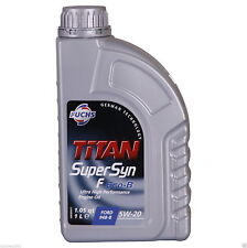 Fuchs TITAN Supersyn F Eco-B 5W-20 Ultra High Performance Fully Syn 1 Litres 1L