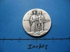 1.7 OZ MASSACHUSETTS IN CONGRESS BICENTENNIAL 1776-1976 MEDALLIC SILVER COIN #B