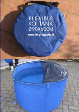 Flexibles Koi - Becken - groß -  für Notfälle und Behandlung 120 cm Durchmesser