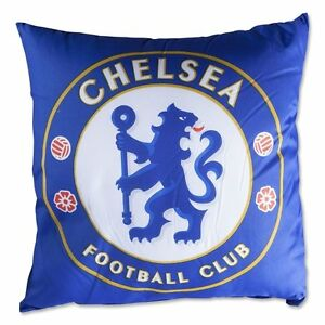 Chelsea Crest Logo Cushion - Christmas Birthday Kids Boys Girls Gift Pillow