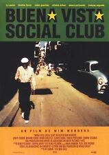 BUENA VISTA SOCIAL CLUB 1999 Wim Wenders, Ry Cooder - Movie Cinema Poster Art