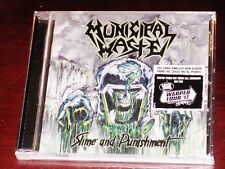 Municipal Waste: Slime And Punishment CD 2017 Nuclear Blast USA NB 3233-2 NEW