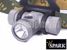 Spark ST6-460NW 460 NW Cree XP-L HI 18650 LED Headlight Headlamp Torch