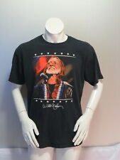 Country Music Shirt - Willie Nelson American Icon - Men's Large