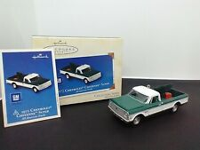 1972 Chevrolet Cheyenne Super 2003 Hallmark Keepsake Ornament All-American Truck