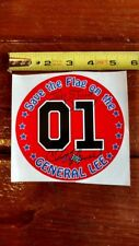 Dukes of Hazzard  General Lee 01 Hazzard Life  Decal Sticker Chris Hensel