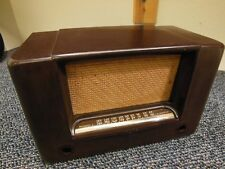 AIRLINE Art-Deco Bakelite Tube Radio Cabinet ☆ New Old Stock ☆ Very Rare ☆