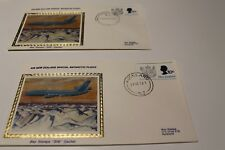 1978 NEW ZEALAND - AIR NEW ZEALAND SPECIAL ANTARCTIC FLIGHT SILK COVER CACHET