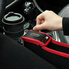 1x Car Accessories Driver Side Seat Storage Box Car Seat Organizer w/ Cup Holder