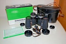 Vintage AMC Model 604 7X35 Binoculars Extra Wide Angle Field of View 1000 Yds
