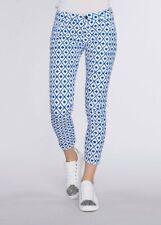 Pantalone in cotone GAUDI' pantalone donna fantasia chino nuovo