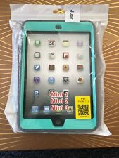 Shockproof Heavy Duty Rubber With Hard Stand Case Cover For iPad Mini