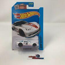 '09 Corvette ZR1 #12 * White Gulf * 2015 Hot Wheels * NA18
