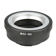 Durable Mount M42 Camera Lens Adapter Screw Ring for Samsung NX11 NX10 NX5 New