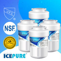 4 PACK ICEPURE GE MWF SmartWater MWFP GWF Comparable Refrigerator Water Filter