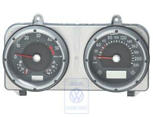 VW Polo 6N2 Dash Instrument Cluster with Speedo in KM/H New Genuine OEM NOS Part