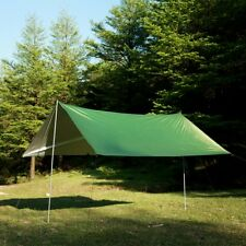 Waterproof 210T Nylon Rain Fly Tarp Tent Ultralight Camping Shelter Mat Cover