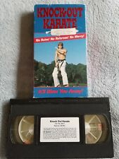 Knock-Out Karate - VHS Tape - Sport - Martial Arts Tournament