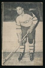 1952-53 St Lawrence Sales (QSHL) #45 MURDO MACKAY (Quebec) -Canadiens