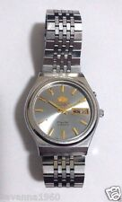 ORIENT MEN'S VINTAGE THREE STAR AUTOMATIC STAINLESS STEEL 21 JEWELS 469WB5-71CA
