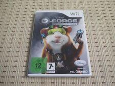 G-Force agents avec Morsure pour Nintendo Wii et Wii U * Neuf dans sa boîte *