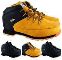 MENS NEW LACE UP HIKING TRAIL WALKING GRIP SOLE ANKLE WINTER SOLE TRAINERS BOOTS