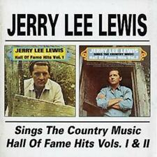 Jerry Lee Lewis : Sings the Country Music Hall of Fame Hits Vols. 1 and 2 CD