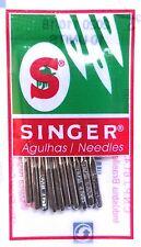 10 Stück Singer Nähmaschinen Nadeln 2020 Stärke 110 für gewebte Stoffe