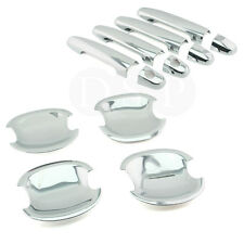 DSP Chrome Door Handle Covers + Bowls fit for TOYOTA Corolla with PSG Keyhole